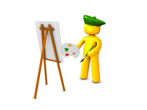 Painter1 Royalty Free Stock Photos