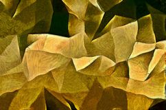 Painterly Angular Forms. Reminiscent of Cubist Art Stock Photos
