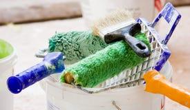 Painters brush Royalty Free Stock Image