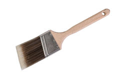 Painters brush on white background Royalty Free Stock Photography