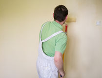 Painters and decoraters Royalty Free Stock Images