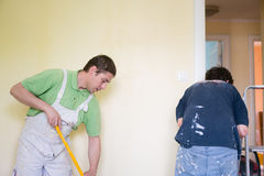 Painters and decoraters Stock Image