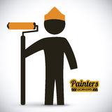 Painters design Stock Photos