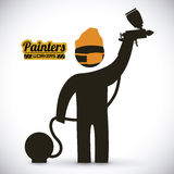 Painters design Stock Images