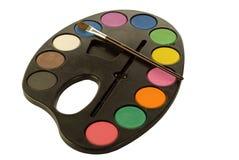 Painters Palette Stock Image