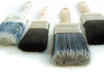 Painters Tools. Traders Tools - White Background, isolated stock photos