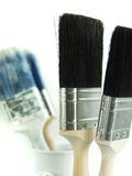 Painters Tools. Traders Tools - White Background, isolated royalty free stock image