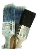 Painters Tools. Traders Tools - White Background, isolated royalty free stock photo