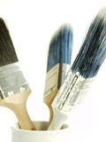 Painters Tools. Traders Tools - White Background, isolated royalty free stock photography