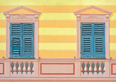 Paintery illusion in Liguria Royalty Free Stock Image