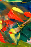 Painting abstract Stock Photo
