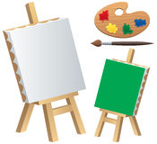 Painting Accessories Stock Image