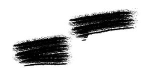 Painting Black Brush Grunge background for titles or other your text with alpha channel. Watercolor Retro art Vintage stock video footage