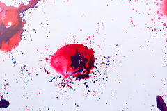 Painting blot Royalty Free Stock Photo