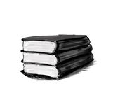 Painting book Royalty Free Stock Image