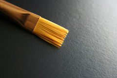 Painting Brush. Close up shot of an artist's brush royalty free stock photography