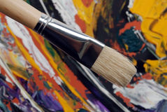 Painting brush Stock Photo