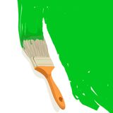 Painting brush Royalty Free Stock Photo