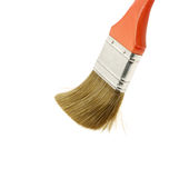 Painting brush push Stock Image
