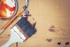 painting brush tool Stock Photos
