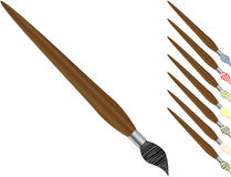 Painting brushes Royalty Free Stock Image