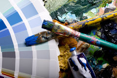 Painting Brushes Stock Image