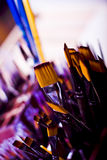 Painting brushes Royalty Free Stock Photos