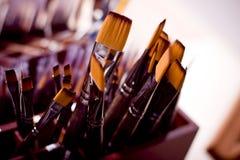 Painting brushes Royalty Free Stock Photo