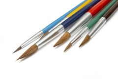 Painting Brushes 2 Royalty Free Stock Photos