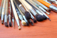 Painting brushes Stock Images
