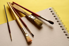 Painting brushes Stock Photography