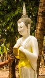 Painting buddha image . Royalty Free Stock Photo