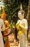 Painting buddha image . Royalty Free Stock Image