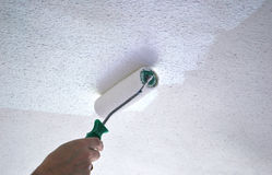 Painting ceiling Royalty Free Stock Photos