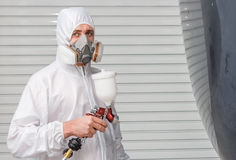 In Painting chamber. Stock Photos