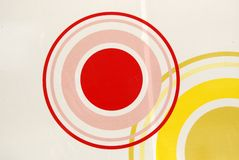 Painting of circles Stock Photography