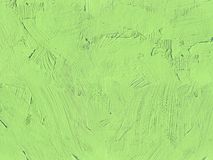 Painting close up of light green color Stock Image