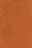 Painting close up of vivid brown color Royalty Free Stock Photography