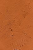 Painting close up of vivid brown color Royalty Free Stock Photos