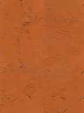 Painting close up of vivid brown color Stock Image
