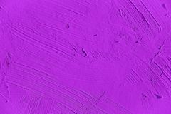 Painting close up of vivid purple color Stock Images