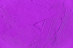 Painting close up of vivid purple color stock image