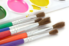 Painting color. Stock Image