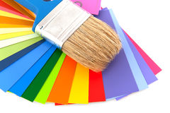 Painting in colors Royalty Free Stock Images