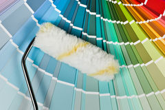 Painting colors Royalty Free Stock Photography