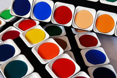 Painting colors Stock Image