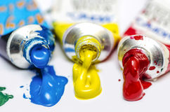 Painting Colors Royalty Free Stock Photos