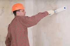 Painting contractor Stock Photos