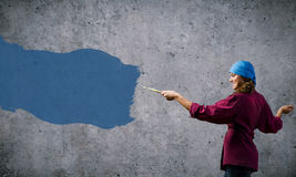 Painting and creativity Royalty Free Stock Photo