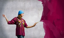 Painting and creativity Stock Images